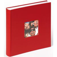 Walther Design fotoalbum Fun 30x30 cm 100 sider rød