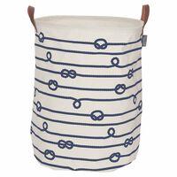 Sealskin vasketøjskurv Rope cremefarvet 60 l 362282022