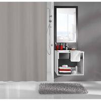 Kleine Wolke badeforhæng Kito 180x200 cm grå