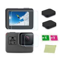 Objektivdæksel og skærmbeskytter GoPro Hero5 Hero6 Hero7 Black