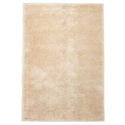 vidaXL shaggy tæppe 160 x 230 cm beige