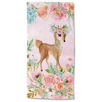 Good Morning badehåndklæde SWEET 75x150 cm lyserød