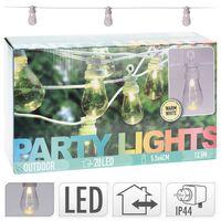 ProGarden LED-lyskæde med 20 lyspærer 12V