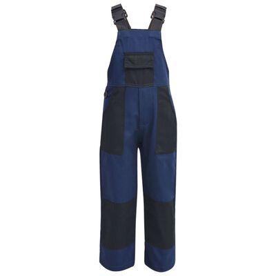 vidaXL Bib overalls til børn størrelse 158/164 blå