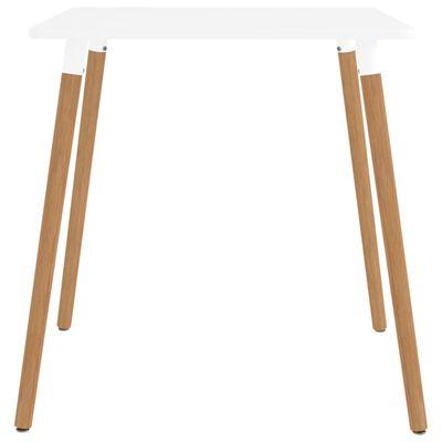 vidaXL spisebordssæt 3 dele grå