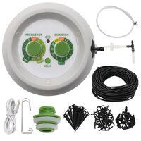 vidaXL indendørs drypvandingssystem med kontrolenhed