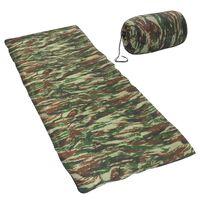 vidaXL soveposer 2 stk. 1100 g 10 °C rektangulær camouflagedesign