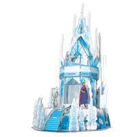 Frost 2 3D-puslespil Ice Palace 47 brikker gennemskinnelig blå