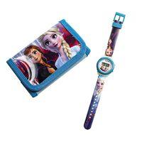 Frozen 2 / Frost 2 - Armbåndsur og Tegnebog