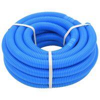 vidaXL poolslange 32 mm 12,1 m blå