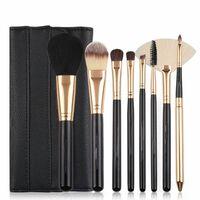 Makeup-sæt Med 8 Forskellige Make-up Børster / Make-up Børster