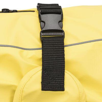 TRIXIE hunde-regnfrakke Vimy M 45 cm gul