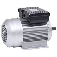 vidaXL enfaset elektrisk motor 2,2 kW/3 hk 2-polet 2800 o/m aluminium