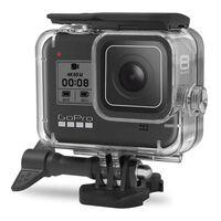 Vandtæt shell kamera til GoPro Hero 8 Sort