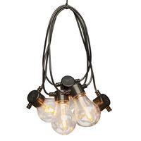KONSTSMIDE lyskæde med 10 udskiftelige lamper ekstra varmt lys