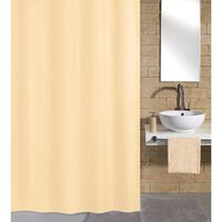 Kleine Wolke badeforhæng Kito 180x200 cm beige