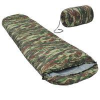 vidaXL sovepose 850 g 15 °C camouflage