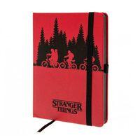 Stranger Things, Notesbog - Upside Down