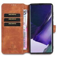 Dg-ming Wallet 3-kort Samsung Galaxy Note 20 Ultra-brun