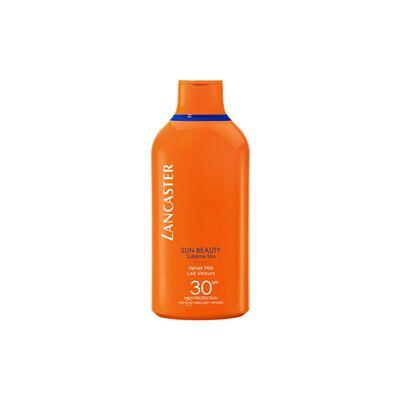Lancaster - SUN BEAUTY velvet tanning milk spf30 400 ml