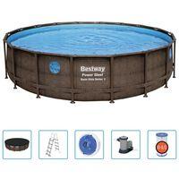 Bestway Power Steel swimmingpoolsæt 549x122 cm