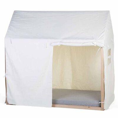 CHILDHOME overtræk til husseng 150x80x140 cm hvid