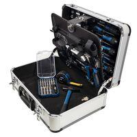 Scheppach værktøjssæt i 101 dele TB150 i aluminiumskasse