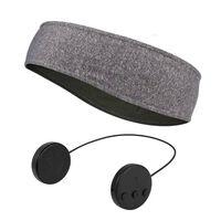 Hovedbøjle med Bluetooth-hovedtelefoner og mikrofon - grå