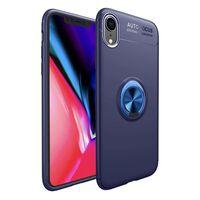 """Slim Ring cover Apple iPhone XR (6,1 """")-blå"""
