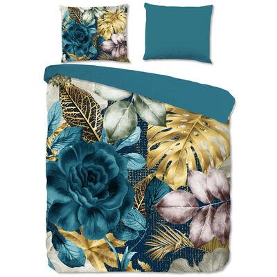 Good Morning sengetøj LIDY 140x200/220 cm petroleumsblå