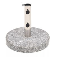 vidaXL parasolfod granit rund 22 kg