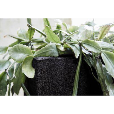 Capi plantekasse Urban Smooth firkantet 40 x 40 x 40 cm sort KBL903