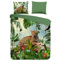 Good Morning sengetøj JUNGLE 240x200/220 cm flerfarvet