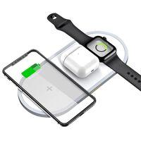 Trådløs hurtigoplader til smartphone og Apple Watch