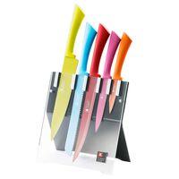 Richardson Sheffield knivsæt 5 dele knivblok Love Colour Original