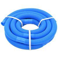 vidaXL poolslange 32 mm 6,6 m blå