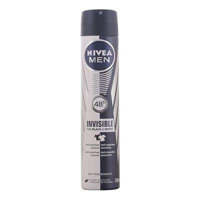 Nivea - MEN INVISIBLE deo vaporizador 200 ml