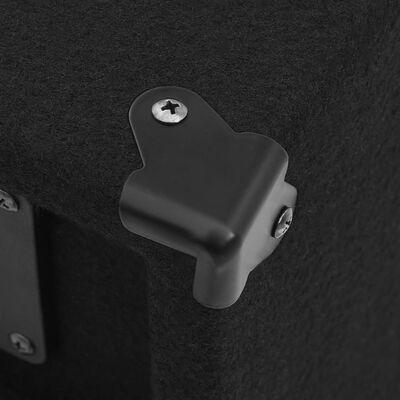 vidaXL prof. passive hi-fi-scenehøjttalere 2 stk. 1000 W sort