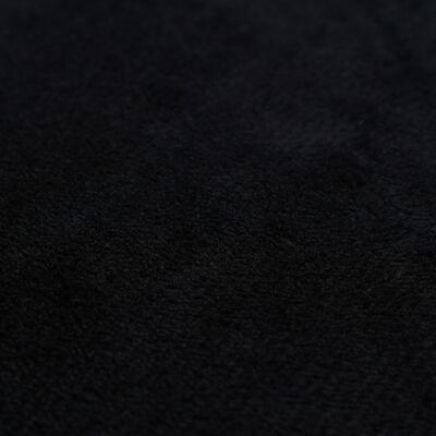 vidaXL pudebetræk 4 stk. velour 80 x 80 cm sort