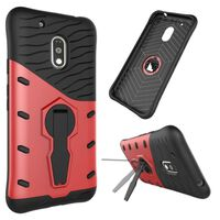 Sniper Cover til Motorola Moto G4 Play (XT1604)-rød