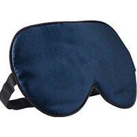 Sovemaske - 100% Silke - Mørkeblå