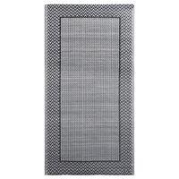 vidaXL udendørstæppe 80x150 cm PP grå
