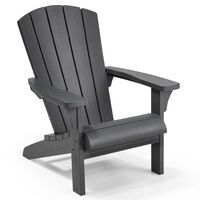 Keter Adirondack-stol Troy grafitgrå