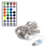 Smart Rgb Lyssløjfe Med App 10 Meter 100 Led