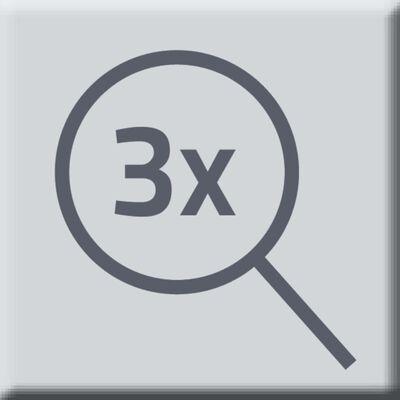 RIDDER fritstående makeupspejl Merida 12,6 cm/13 cm
