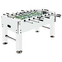 vidaXL bordfodboldbord 60 kg 140x74,5x87,5 cm hvid