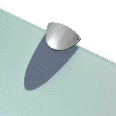 vidaXL svævehylde glas 90x20 cm 8 mm