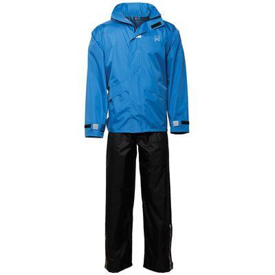 Willex regntøjssæt størrelse S blå og sort 29143