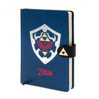 Zelda - Notesbog, Blå