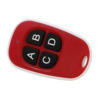 Vandtæt fjernbetjening med ledning til automatiske døre - rød / hvid